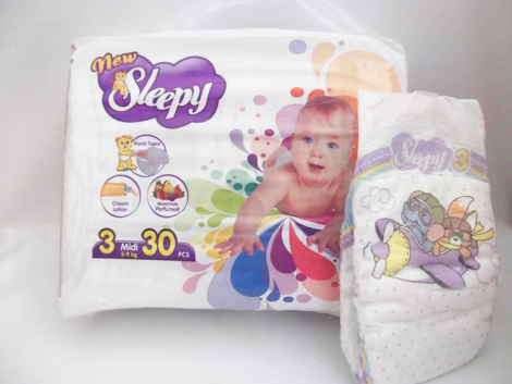 Sleepy Diapers – Midi