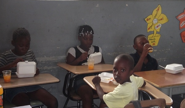 St. Thomas Children Camp Out to Improve Literacy