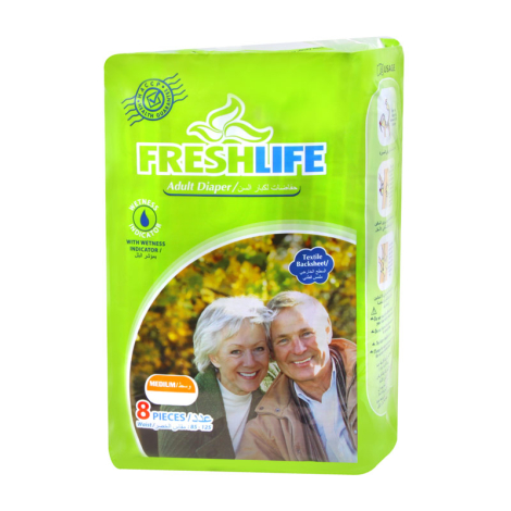 FreshLife Adult Diapers – Medium