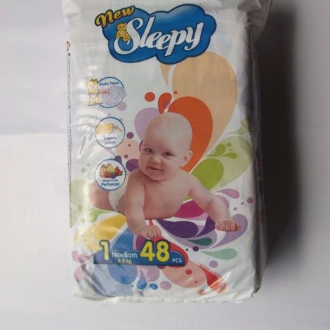 Sleepy Diapers – Newborn