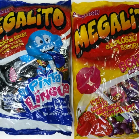 Megalito Assorted Lollipop/ Megalito Mouth Paint Lollipop