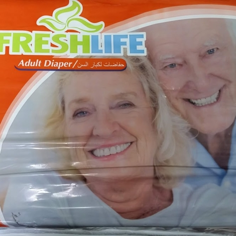 FreshLife Adult Diaper-Extra Large