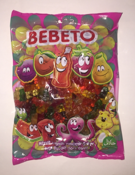 Bebeto 6 Colour Bears